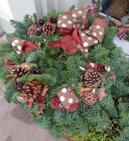 Hunter Festive Wreath